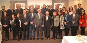 Importantes reuniones sostuvo Rector con socios estratégicos de Talca