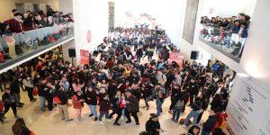Más de 2 mil escolares participaron del 1er Ensayo PSU de la Autónoma en Santiago