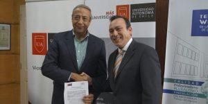 U. Autónoma y CFT Teodoro Wickel sellan importante alianza