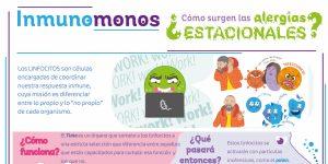 Inmunomonos: una serie de infografías sobre los fenómenos inmunológicos