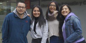 Beca Santander: Cuatro estudiantes de La Araucanía se preparan para vivir un semestre en el extranjero