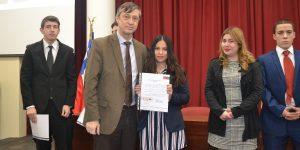 39 estudiantes de Derecho reciben investidura Ius Postulandi