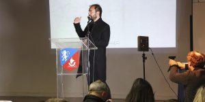 Investigador de la U. Autónoma dictó charla en Colegio Alianza Francesa