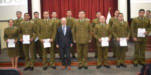 Destacan aporte de la U. Autónoma en actualización de conocimientos de policías en la región