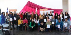 U. Autónoma formó en liderazgo a dirigentes sociales de la comuna de Licantén