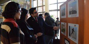 Exposición de fotografías periodísticas se exhibe en la U. Autónoma