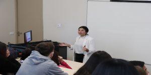 Fundación Iguales dio charla sobre diversidad sexual a alumnos de Obstetricia y Puericultura