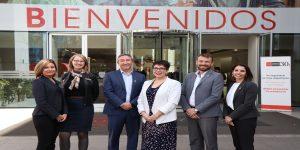 Delegación de universidades canadienses visitó la Autónoma