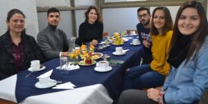 Estudiantes de intercambio reciben bienvenida en Talca