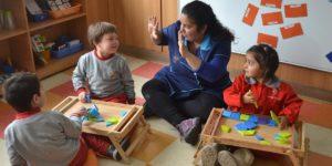 Jardín Infantil de la U. Autónoma contribuye en formación integral de menores y docentes