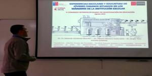 Académico de Escuela de Psicología participó en Congreso Interdiciplinario de Investigación en Educación