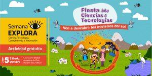 Coliseo de la Autónoma será epicentro de la Fiesta de las Ciencias y las Tecnologías