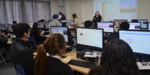 Ingeniería Civil Informática acerca a estudiantes secundarios al mundo de la programación