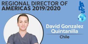 Alumno de Odontología asume importante cargo de asociación internacional