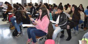 U. Autónoma realiza segundo ensayo PSU 2019 con gran asistencia de estudiantes