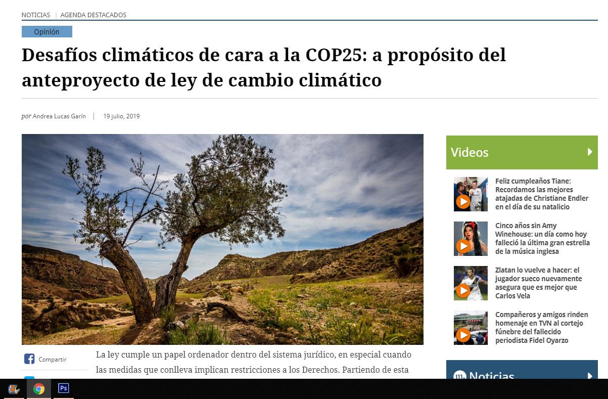 Desafíos importantes de cara a la COP25