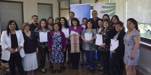Artesanas padrelascasinas certificadas en asesoría especializada en diseño mapuche con identidad cultural