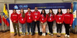 Alumnos de Administración Pública asistieron a congreso CLAD en Buenos Aires
