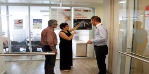 Representantes de la Universidad de Ciencias Aplicadas Kufstein Tirol visitaron la Autónoma