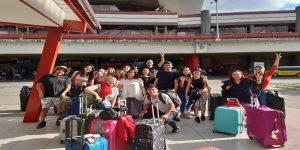 Alumnos de Pedagogía Básica asistieron a Congreso Matecompu en Cuba