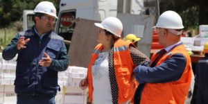 Vicerrector y directores de Facultad Ciencias de la Salud visitaron construcción de nuevo Hospital Makewe