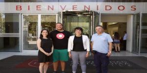 Universidad Francesa visita la UA para conocer su programa de movilidad internacional