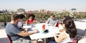 UA entrega clases de español a alumnos de intercambio
