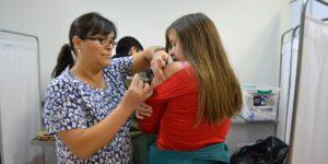 Enfermería apoya campaña de vacunación antiinfluenza en el Maule