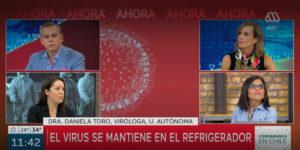 Daniela Toro, viróloga UA: «el COVID-19 se puede mantener desde horas hasta días en algunas superficies»