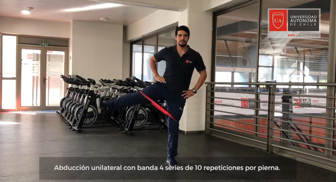 Coliseo Autónoma te invita a realizar ejercicios en casa
