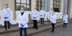 La primera línea de la Autónoma: nuestros héroes de bata blanca al servicio del país