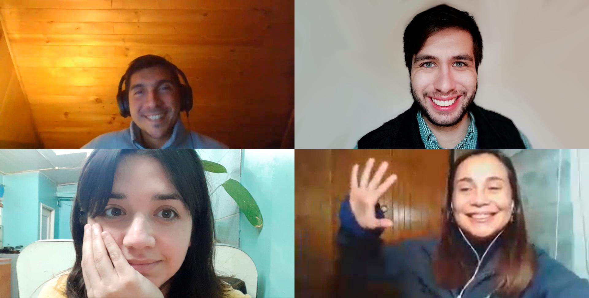 Trabajo Social realizó conversatorio sobre intervención social a distancia