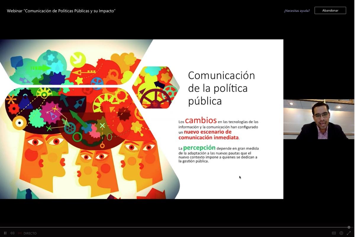 FAN organiza webinar sobre comunicación de políticas públicas