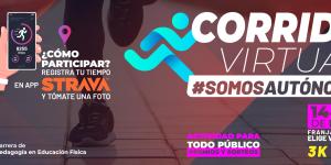 Corrida virtual #SomosAutónoma se vivirá en todo Chile