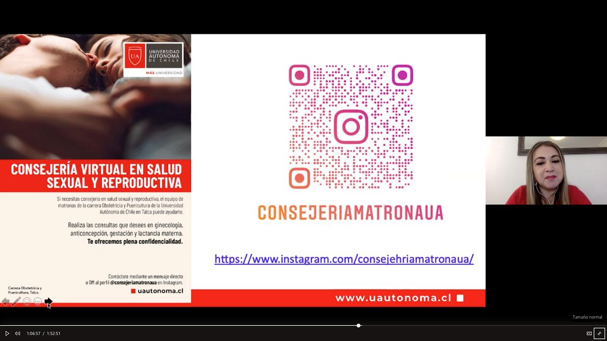 U. Autónoma promueve conductas responsables e informadas en anticoncepción